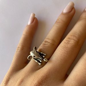 Adjustable Elephant Ring Cute Gift Idea Jewelry